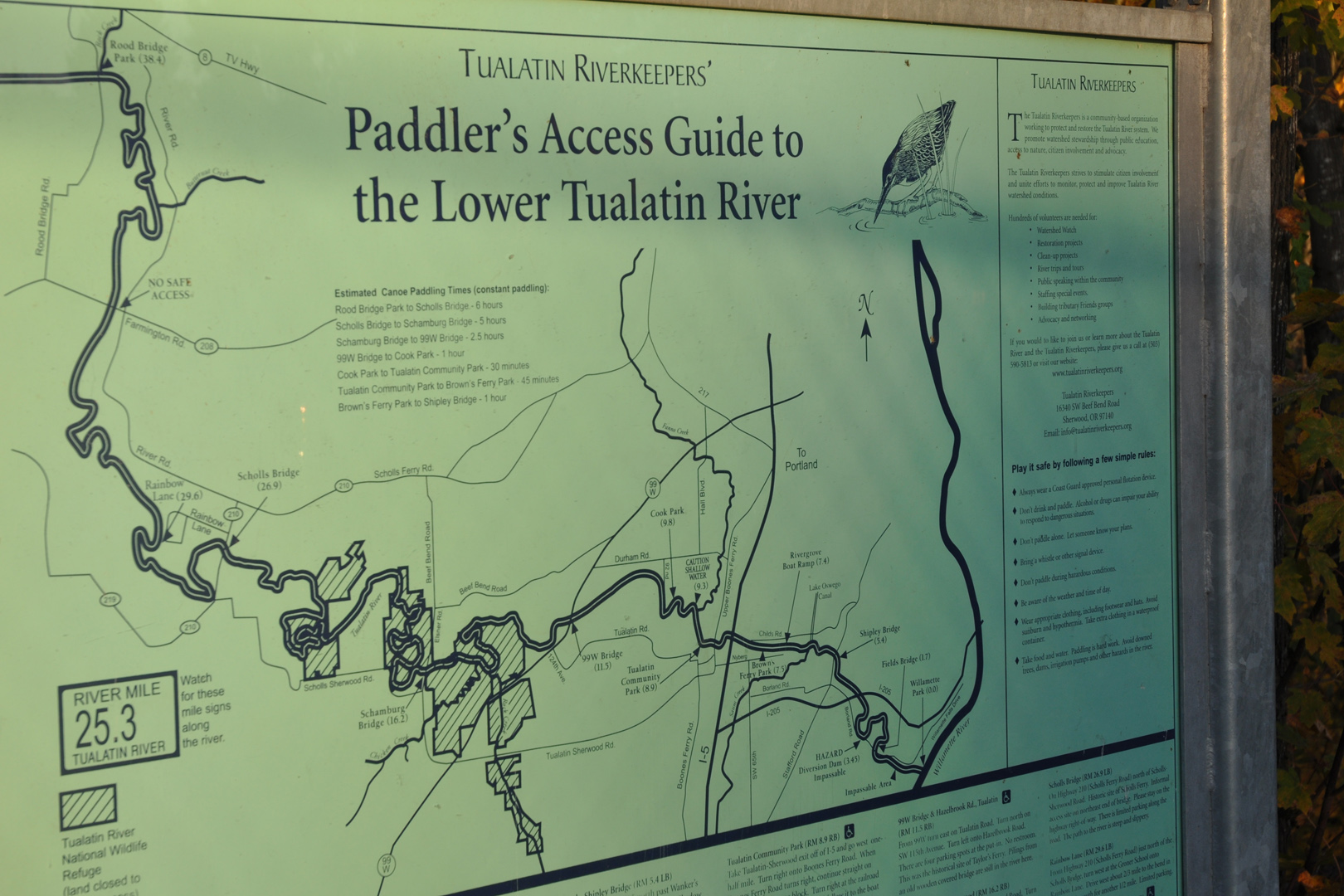Paddlers Access Map