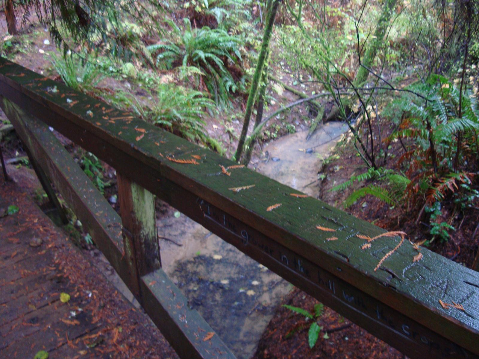 Wooden Creek Bridge.