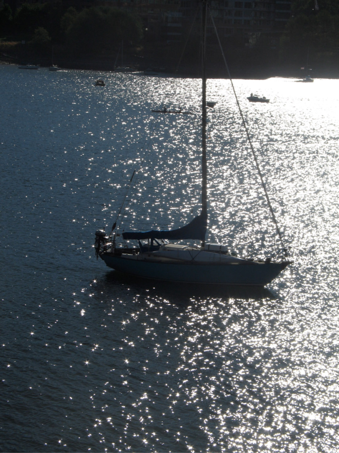 Sailboat on the Willamette