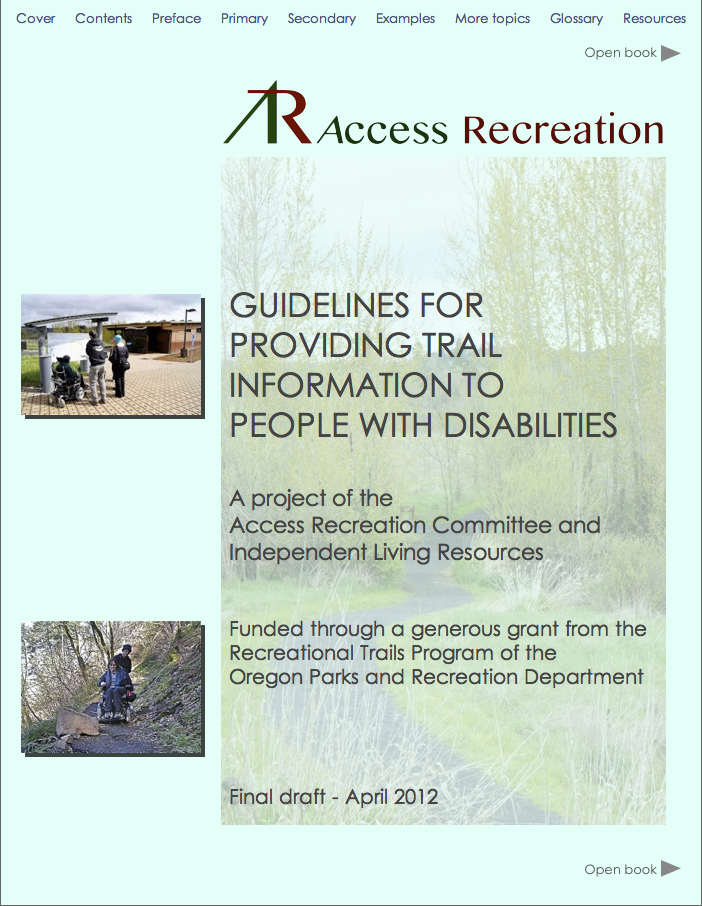 Improve Recreational Facility Accessibility Information