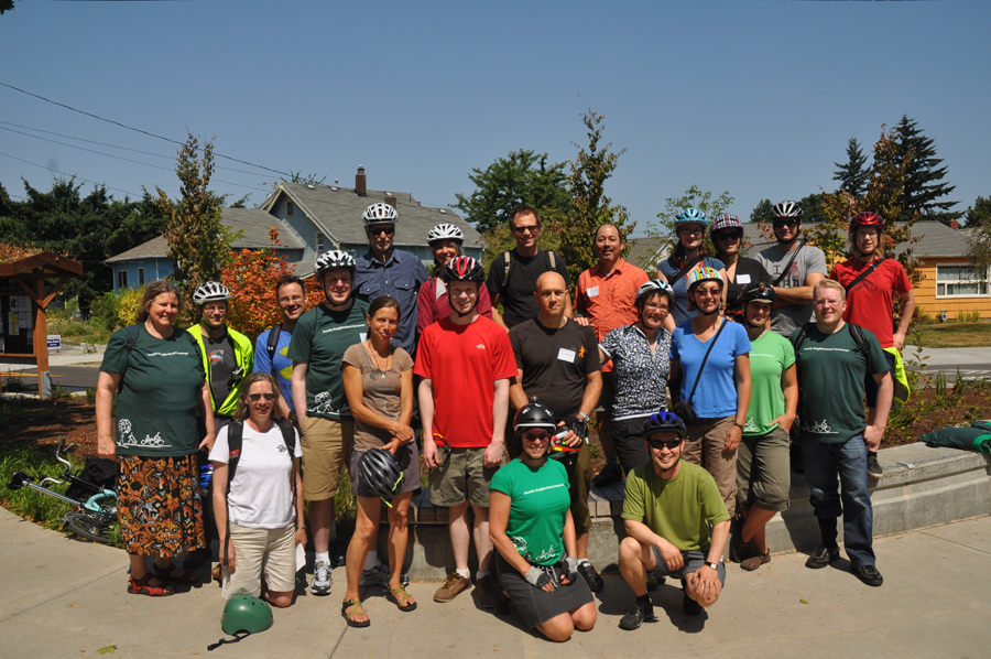 The Seattle Neighborhood Greenways Group   Photos by Mike Houck