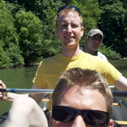 The Guys and their Canoe